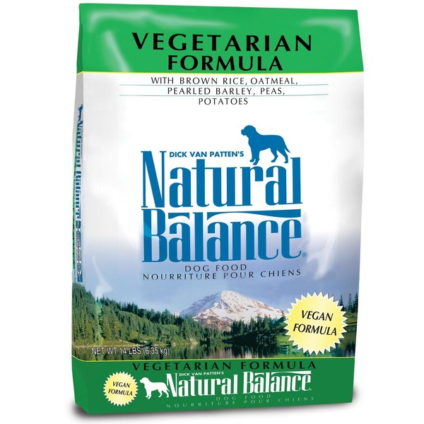 Dick Van Patten's Natural Balance Vegetarian Formula With Brown Rice, Oatmeal, Pearled Barley, Peas, Potatoes Dog Food