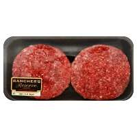 93% Lean Ground Beef Patty No More Than 7% Fat