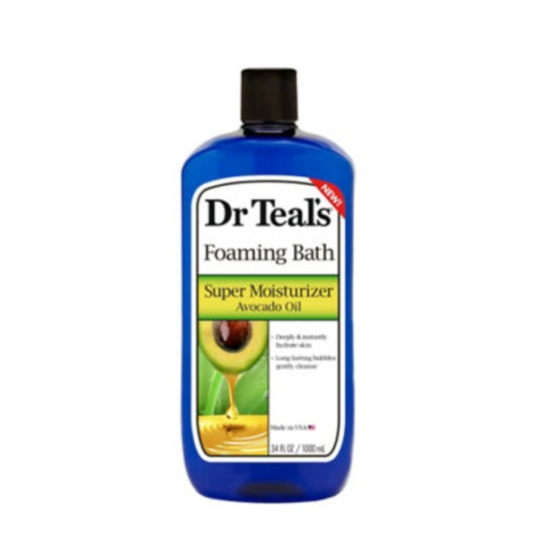 Dr. Teal's Foam Bath Super Moisturizer Avocado Oil