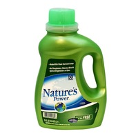 Nature's Power Perfrume & Dye Free Laundry Detergent