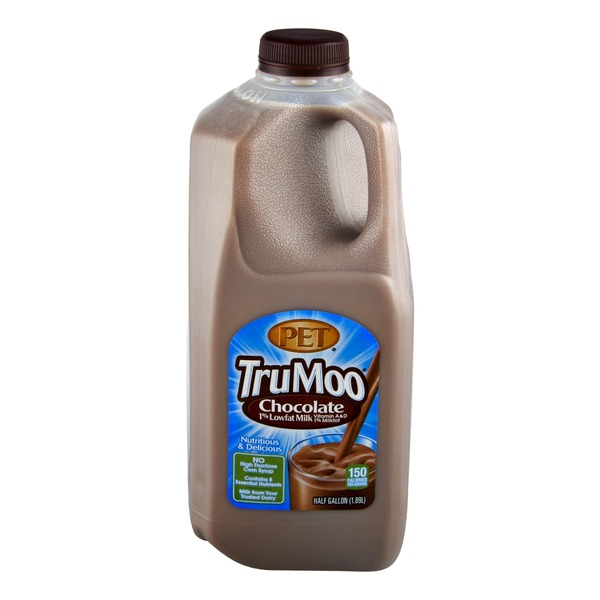 PET TruMoo Chocolate 1% Lowfat Milk