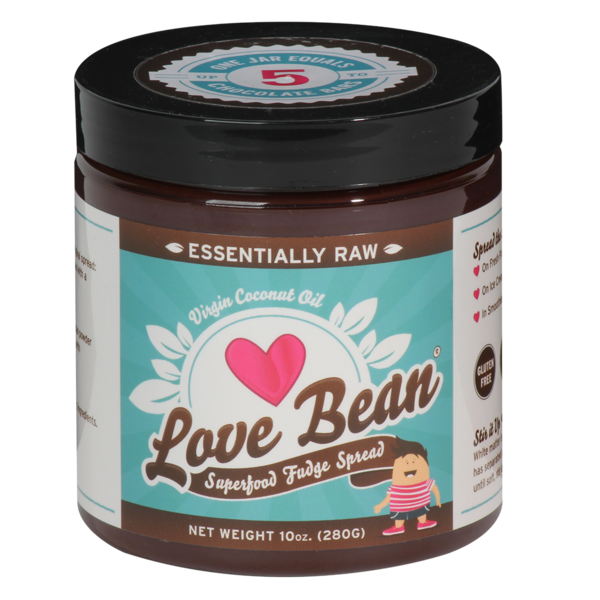 Love Bean Superfood Fudge Spread Essentially Raw