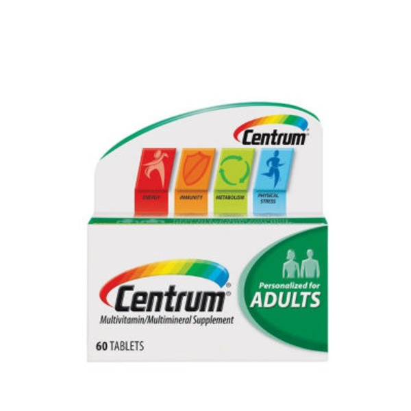 Centrum Adults Tablets Multivitamin/Multimineral Supplement