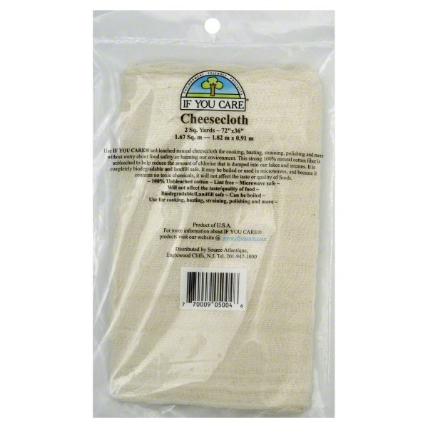 If You Care Cheesecloth