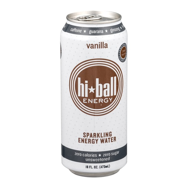 Hi-Ball Sparkling Energy Water Vanilla