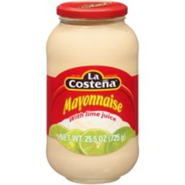 La Costeña With Lime Juice Mayonnaise