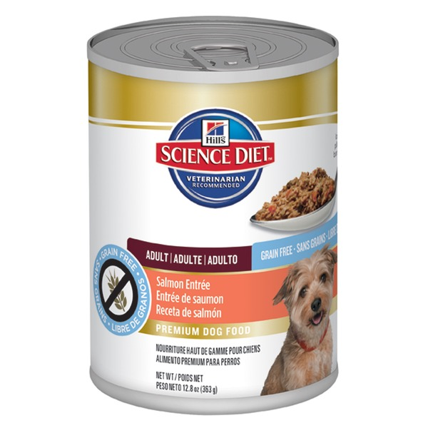 Hill's Science Diet Grain Free Salmon Entree Canned Adult Dog Food