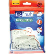 Dr. Fresh Kool Floss, 60 count