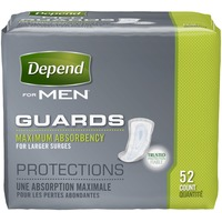 Depend for Men Maximum Absorbency Guards