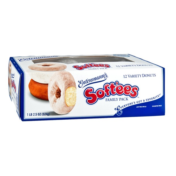 Entenmann's Soft'ees Variety Donuts