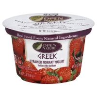 Open Nature Greek Yogurt Strained Nonfat Strawberry
