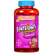 Flintstones Gummies Complete Children's Multivitamin, 180 Count