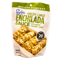 Frontera Enchilada Sauce Green Chile With Roasted Tomatillo + Garlic