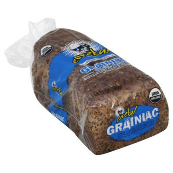 eureka! Organic 14 Grains & Seeds Bread Grainiac