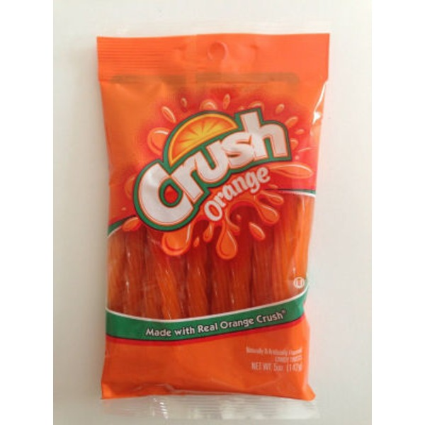 Crush Orange Candy Twists