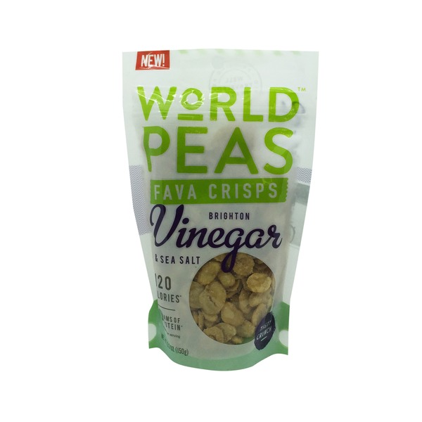 World Peas Fava Crisps, Brighton Vinegar & Sea Salt