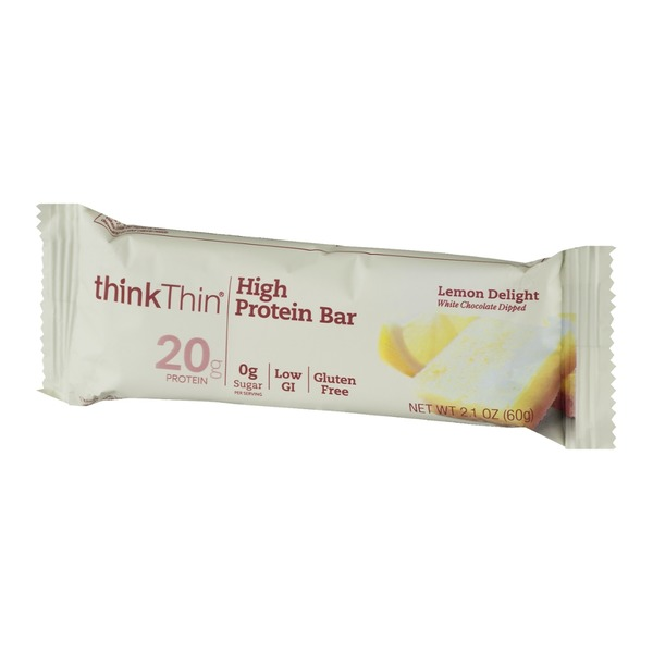 thinkThin High Protein Bar Lemon Delight