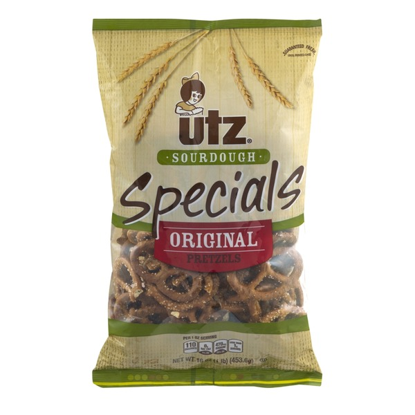 Utz Sourdough Specials Original Pretzels