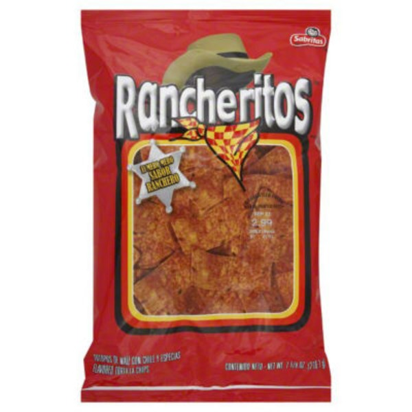 Rancheritos El Mero Mero Sabor Ranchero Flavored Tortilla Chips