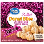 Great Value Chocolate Chip Cookie Dough Donut Bites