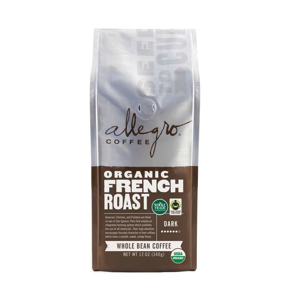 Allegro Organic French Roast Coffee Whole Bean