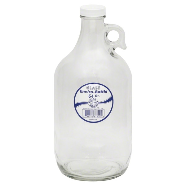 Enviro Products Enviro-Bottle, Glass, 64 oz