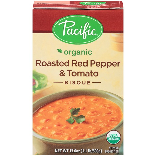 Pacific Organic Roasted Red Pepper & Tomato Bisque
