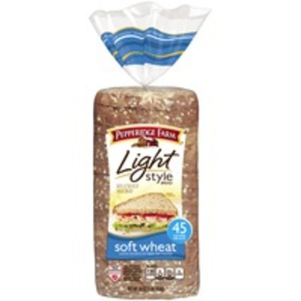 Pepperidge Farm Fresh Bakery Light Style Soft Wheat Bread