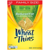 Wheat Thins Reduced Fat Family Size Crackers