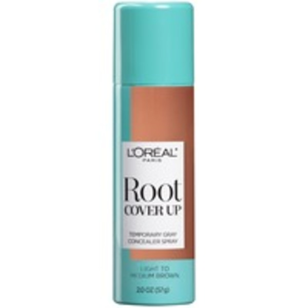 Root Cover Up Light to Medium Brown Root Hair Color