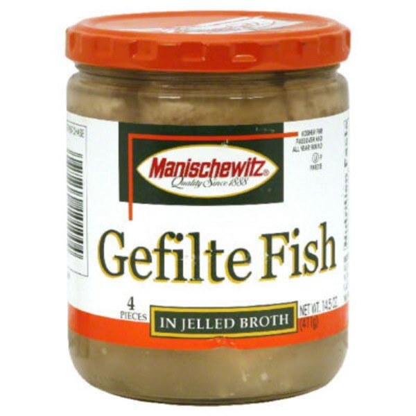 Manischewitz Gefilte Fish, in Jelled Broth