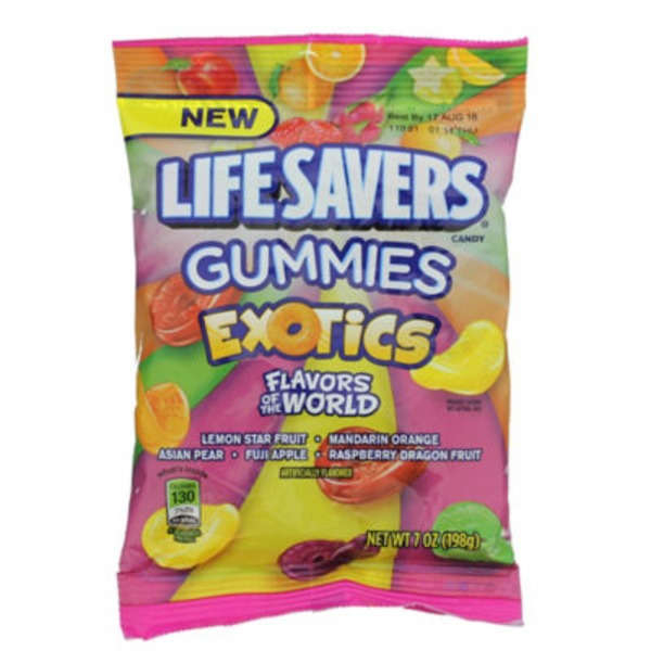 LifeSavers Gummies Candy Exotics Mix