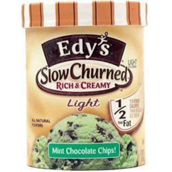 Edys Slow Churned Light Mint Chocolate Chip Ice Cream