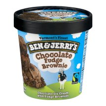 Ben & Jerry's Chocolate Fudge Brownie Ice Cream, 1 pint