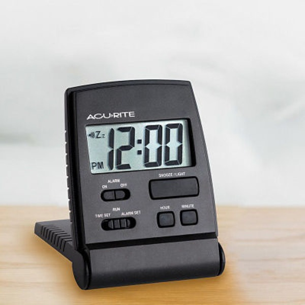 Chaney Instrument Sojorm Lcd Travel Alarm Clock