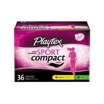 Playtex Sport Multipack Compact 36ct