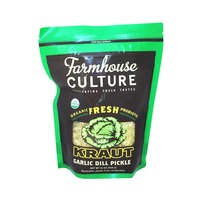 Farmhouse Culture Organic Garlic Dill Pickle Kraut