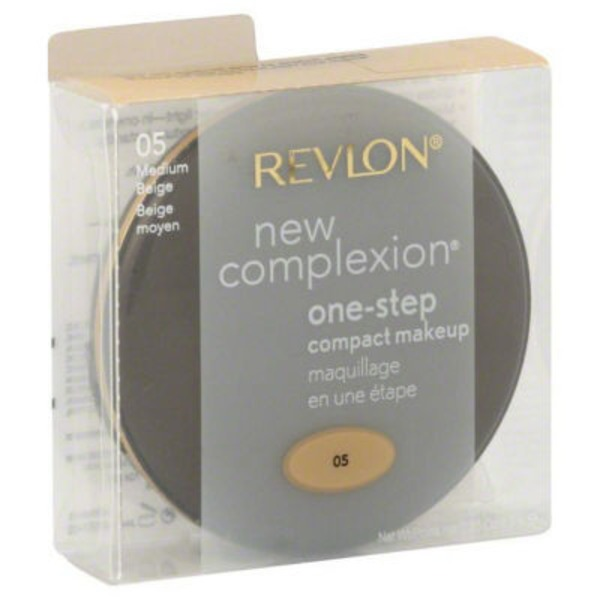 Revlon New Complexion, One-Step, compact makeup Medium Beige 05