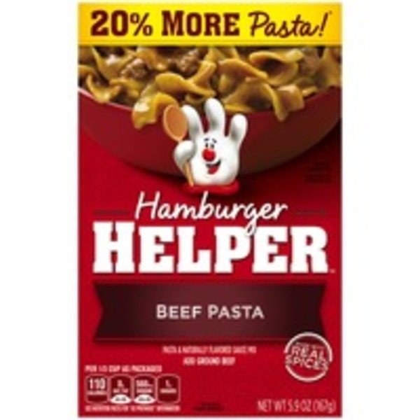 Betty Crocker Beef Pasta Hamburger Helper