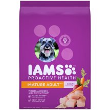 IAMS PROACTIVE HEALTH Mature Adult Dry Dog Food 15 Pounds