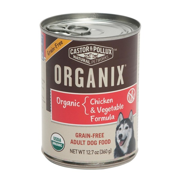 Castor & Pollux Organix Grain Free Chicken & Vegetable Dog Food