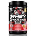 Six Star Elite Series Whey Protein Powder 39 grams of Protein Strawberry, 2 lbs