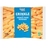 Great Value Crinkle Cut French Fried Potatoes, 32 oz