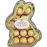 Ferrero Rocher Fine Hazelnut Chocolates 5.7 oz. Box