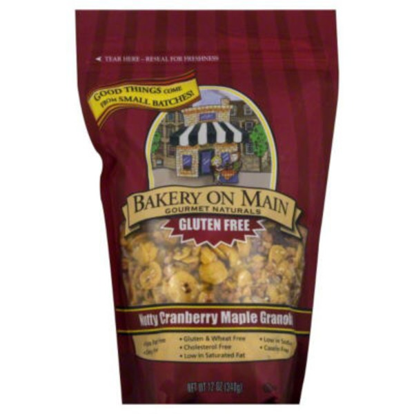Bakery on Main Gluten Free Granola Nutty Cranberry Maple