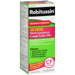 Robitussin Adult Maximum Strength Severe Multi-Symptom Cough Cold+Flu Liquid, 4 fl oz