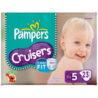 Pampers Cruisers Pampers Cruisers Diapers Size 5 21 count Diapers