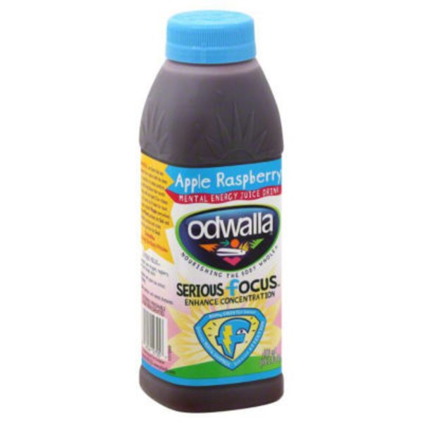 Odwalla Apple Raspberry Enhance Concentration