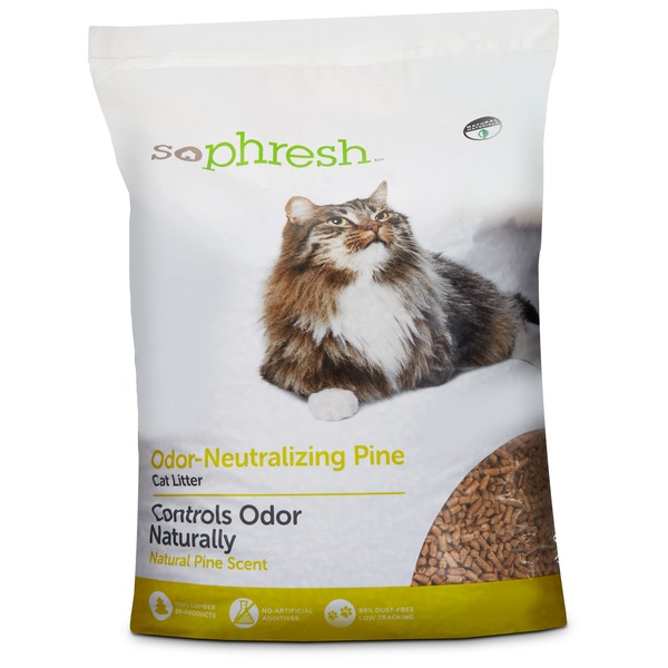 Sophisticated Cat Pine Pellet Cat Litter