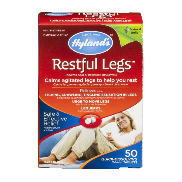 Hyland's Restful Legs Quick-Dissolving Homeopathic Tablets - 50 CT